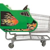 Single Basket Shuttle Cart